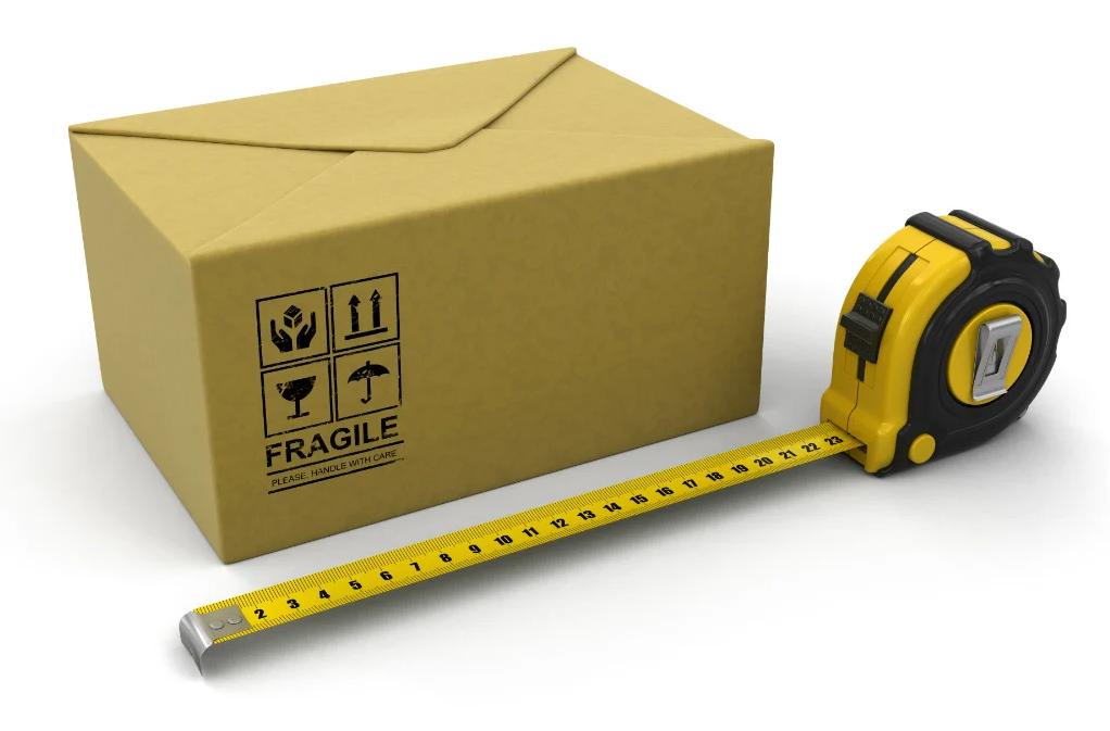 come misurare un pacco