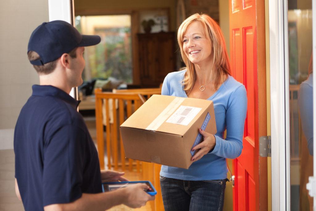 spedizione pacchi online con ritiro a domicilio