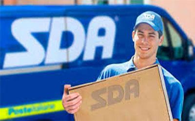 spedire pacco facile con corriere SDA