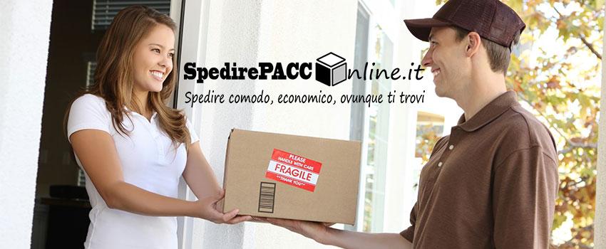 spedire pacco online facile