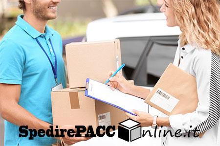 spedire pacco online con ritiro e consegna a domicilio