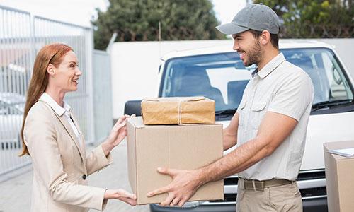 spedizione pacco con ritiro e consegna a domicilio