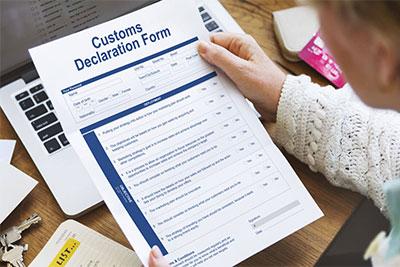 documenti doganali per spedizioni internazionali