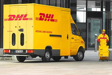 spedire pacco in europa con corriere espresso dhl ritiro e consegna a domicilio