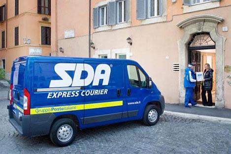 spedire pacco in italia con corriere espresso sda ritiro e consegna a domicilio