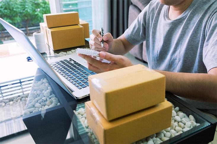 spedire pacco online