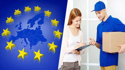 spedizioni pacchi con corriere espresso in europa