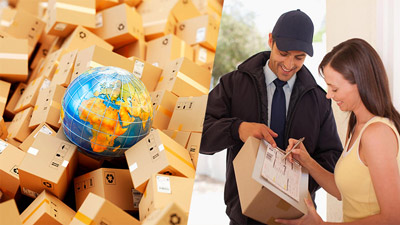spedizioni pacchi internazionali con corriere espresso