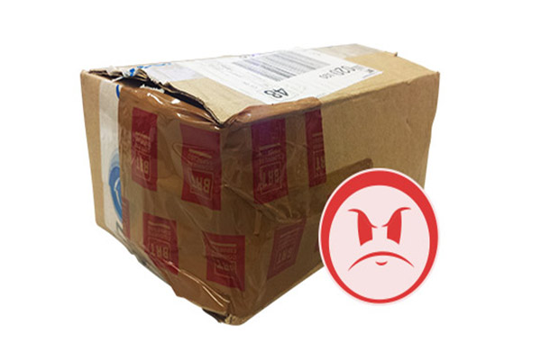 spedizione pacco non assicurato
